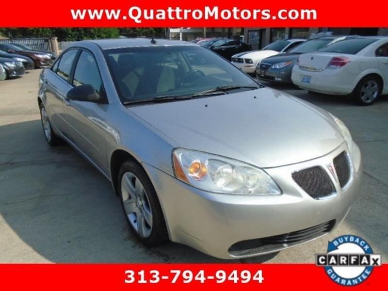 2008 Pontiac G6 car for sale in Detroit
