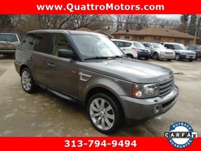 2008 Land Rover Range Rover Sport car for sale in Detroit