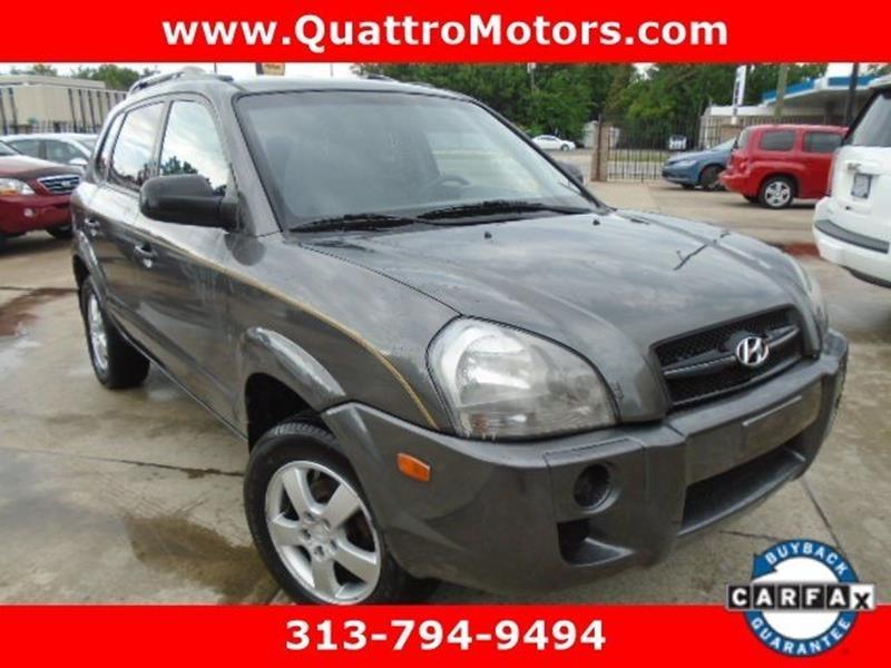 2007 Hyundai Tucson car for sale in Detroit