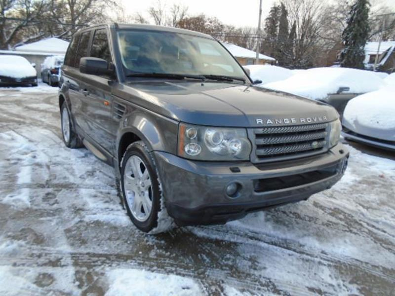 2006 Land Rover Range Rover Sport car for sale in Detroit