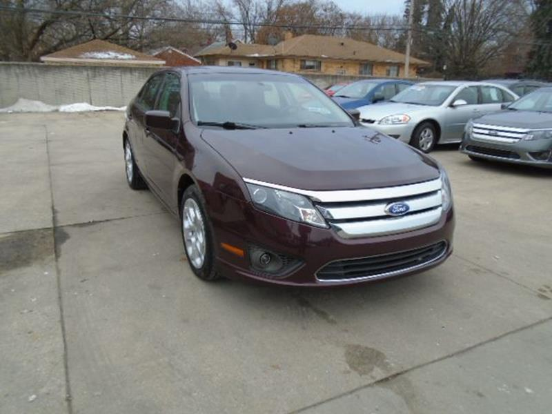 2011 Ford Fusion car for sale in Detroit