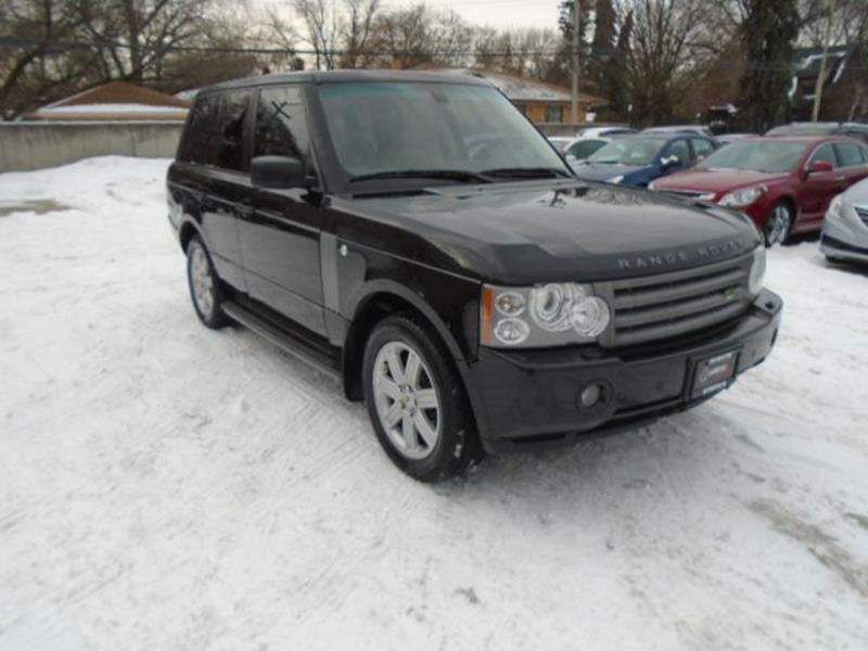 2008 Land Rover Range Rover car for sale in Detroit