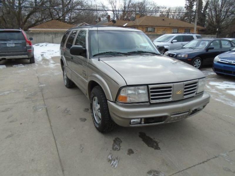 2000 Oldsmobile Bravada car for sale in Detroit