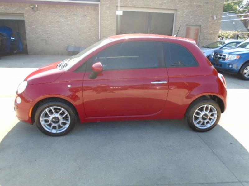 2012 Fiat 500 car for sale in Detroit
