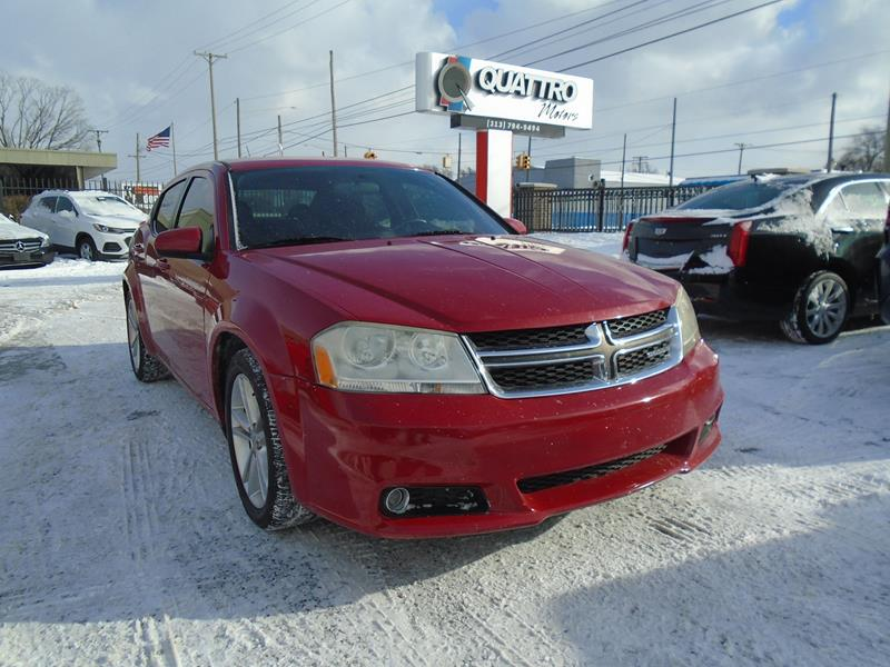 2011 Dodge Avenger car for sale in Detroit