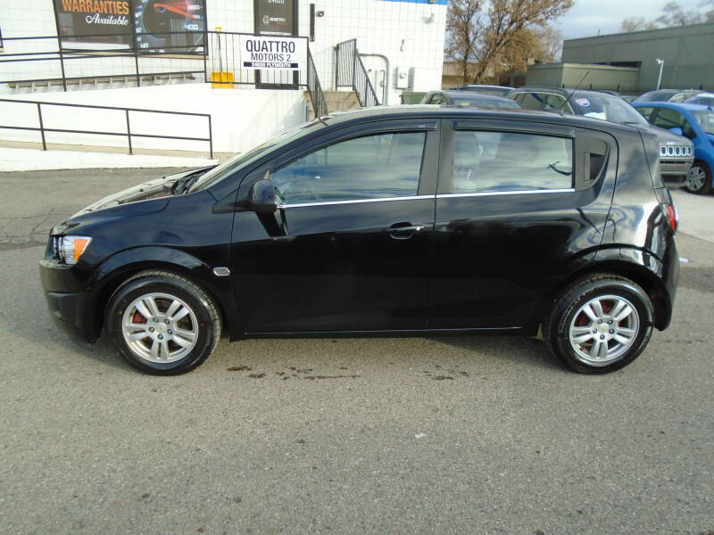 2012 Chevrolet Sonic car for sale in Detroit