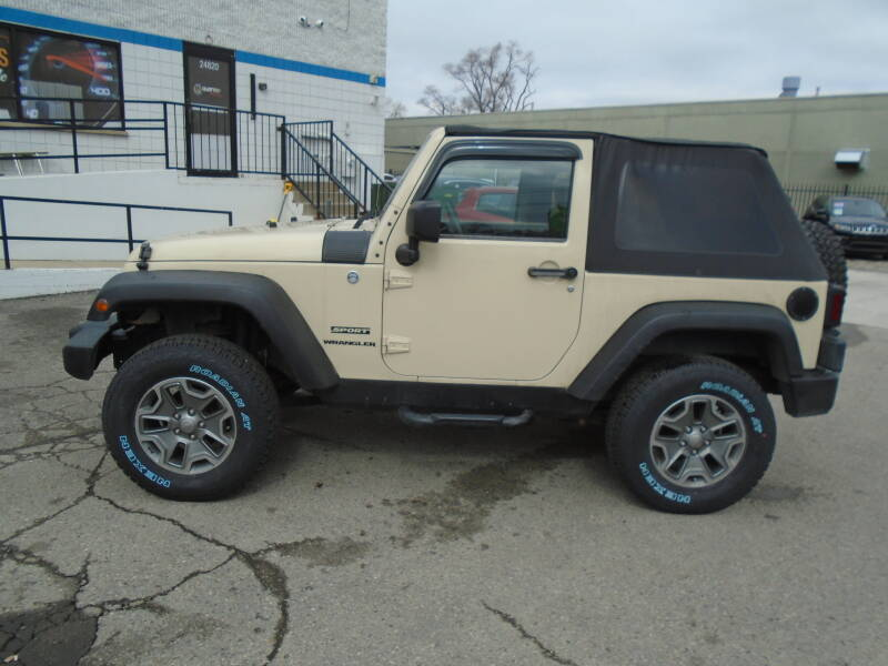 2011 Jeep Wrangler car for sale in Detroit