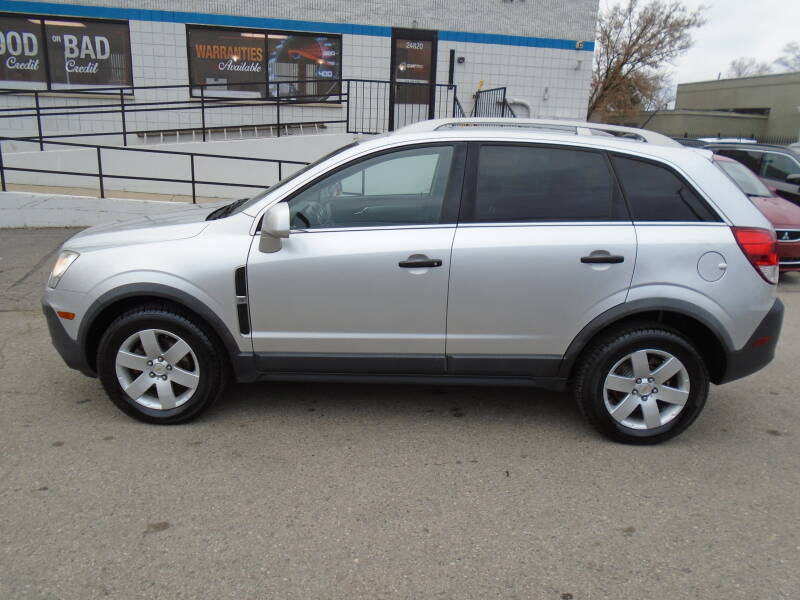 2012 Chevrolet Captiva Sport car for sale in Detroit