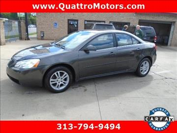 2005 Pontiac G6 for sale in Redford, MI