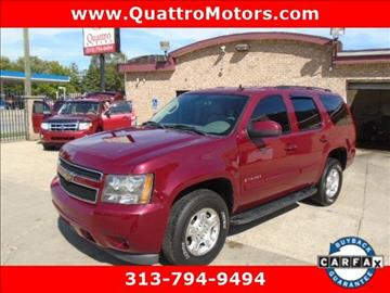 2007 Chevrolet Tahoe for sale in Redford, MI