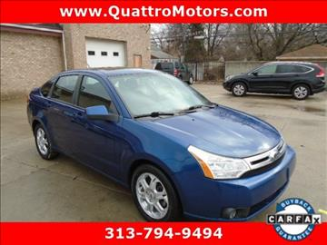 2009 Ford Focus for sale in Redford, MI
