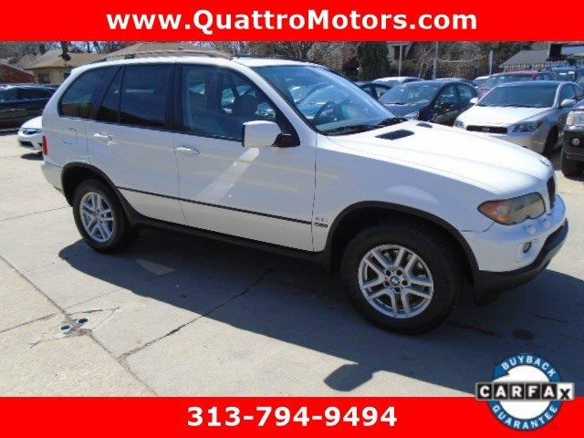 2006 Bmw X5 car for sale in Detroit