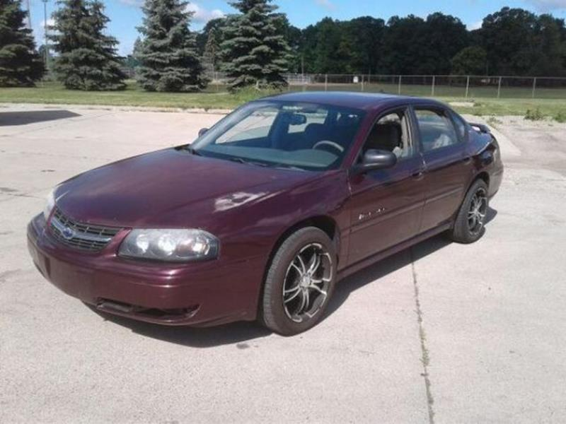2004 Chevrolet Impala  WOW UNBELIEVABLE PRICE This vehicle is priced well below Blue Book WHAT A C