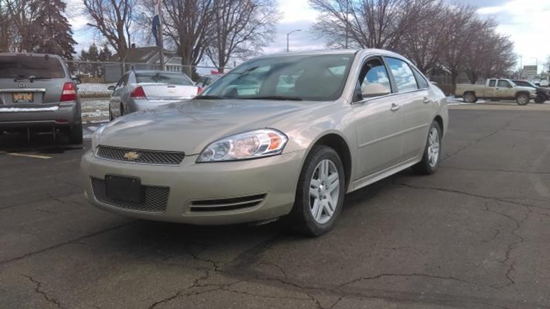 2012 Chevrolet Impala  Remote Engine Start VEHICLE INFORMATION OPTIONS 50 State Emissions ABS Brak