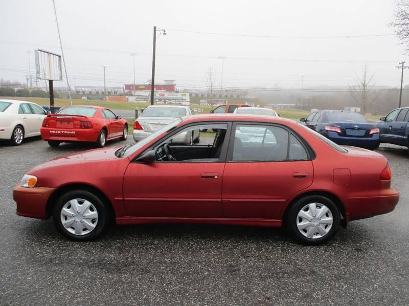 Toyota Corolla CE Dr Sedan In Newton NC Hickory Wholesale - 2001 corolla