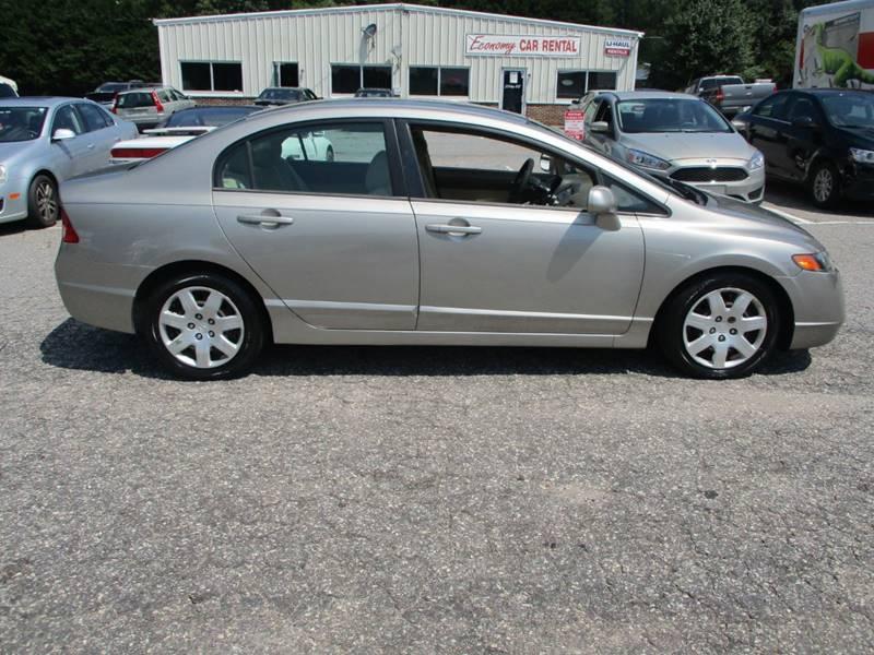 2006 Honda Civic Lx 4dr Sedan Wautomatic In Newton Nc Hickory