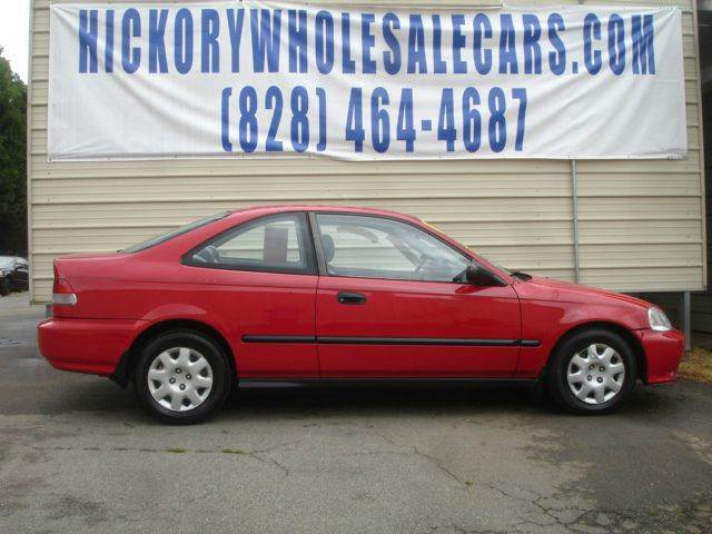 1999 Honda Civic Dx 2dr Coupe In Newton Nc Hickory Wholesale Cars Inc