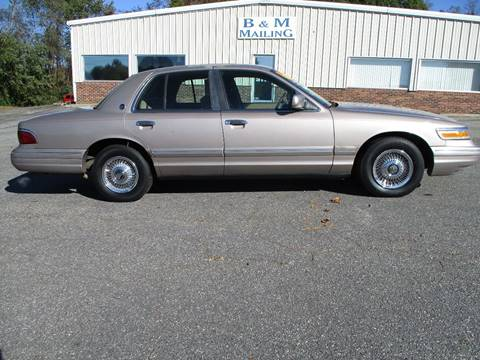 1995 Mercury Grand Marquis for sale at Hickory Wholesale Cars Inc in Newton NC