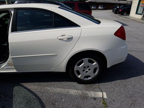 2007 Pontiac G6 for sale in Conyers, GA