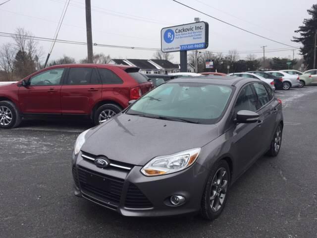 2014 Ford Focus Se 4dr Hatchback In Harrisburg Pa R J