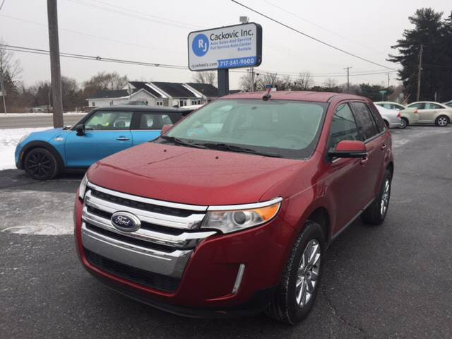 Ford Edge Awd Sel Dr Crossover Harrisburg Pa
