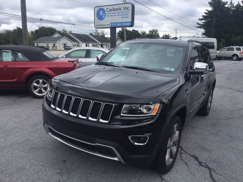 2015 Jeep Grand Cherokee 4x4 Limited 4dr SUV   Harrisburg PA