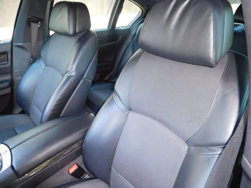 2012 BMW 7 Series 750i 4dr Sedan - Walnut Creek CA