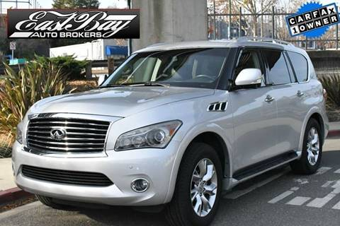2011 Infiniti QX56 for sale at East Bay AutoBrokers in Walnut Creek CA