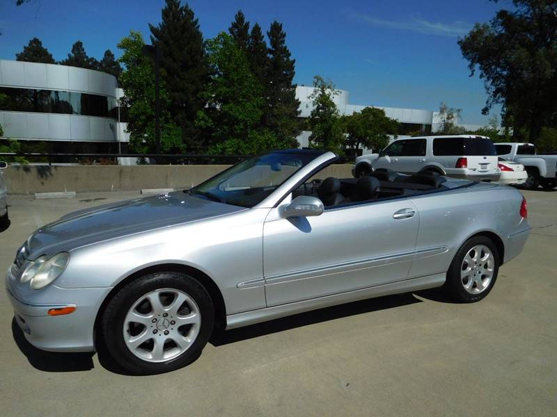 2004 Mercedes Benz CLK For Sale At East Bay AutoBrokers In Walnut Creek CA