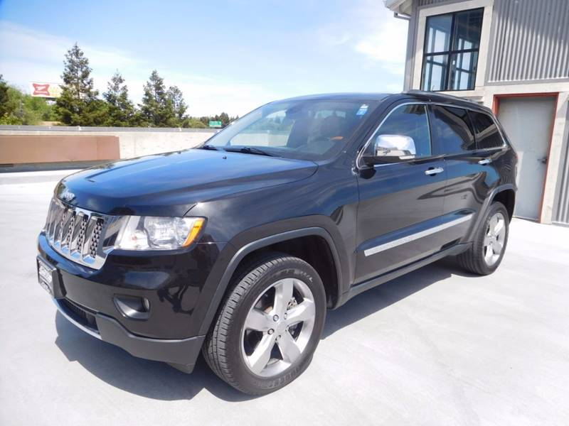 2012 Jeep Grand Cherokee 4x4 Overland Summit 4dr SUV - Walnut Creek CA