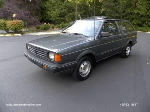 1988 Volkswagen Fox for sale in Kirkland, WA