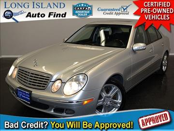 2005 Mercedes-Benz E-Class for sale in Copiague, NY