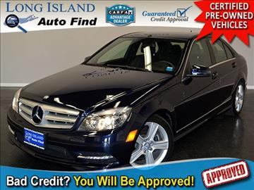2011 Mercedes-Benz C-Class for sale in Copiague, NY