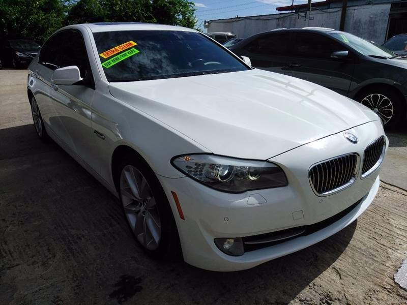 2012 Bmw 5 Series 528i 4dr Sedan In Houston TX