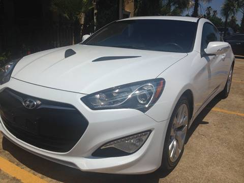 2015 Hyundai Genesis Coupe For Sale In Houston, TX