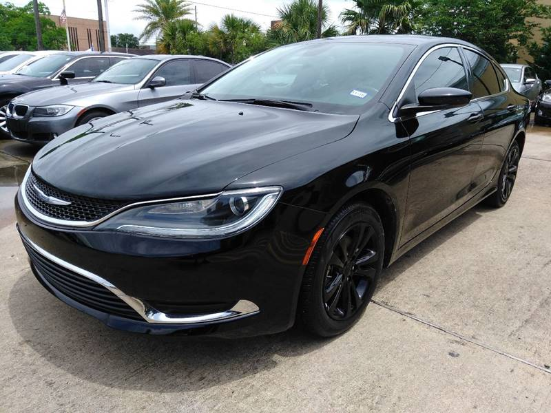 2015 chrysler 200 limited 4dr sedan in houston tx hwy 6 autoplex. Black Bedroom Furniture Sets. Home Design Ideas