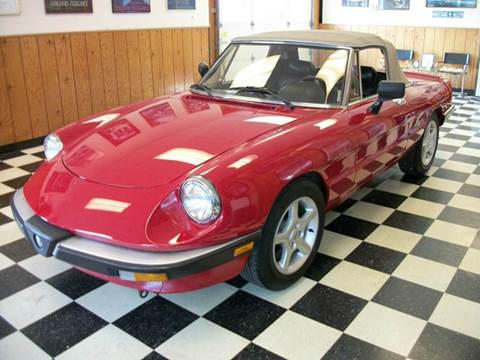 Alfa Romeo Spider For Sale In Minerva OH Carsforsalecom - Alfa romeo for sale