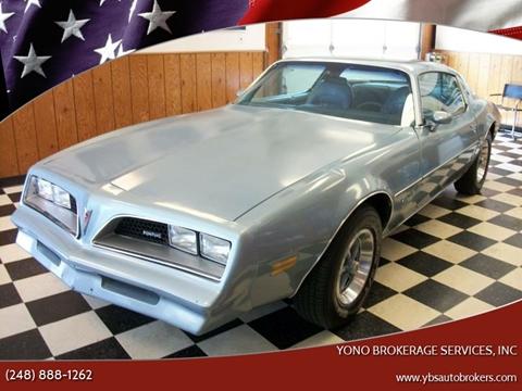 1977 Pontiac Firebird for sale in Farmington, MI