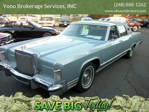 Lincoln Town Car For Sale Carsforsale Com
