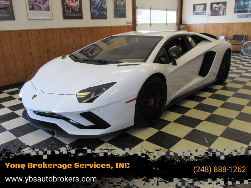 2017 Lamborghini Aventador Awd Lp 740 4 S 2dr Coupe In Farmington Mi