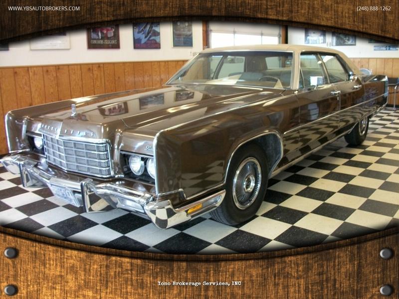 1973 Lincoln Town Car