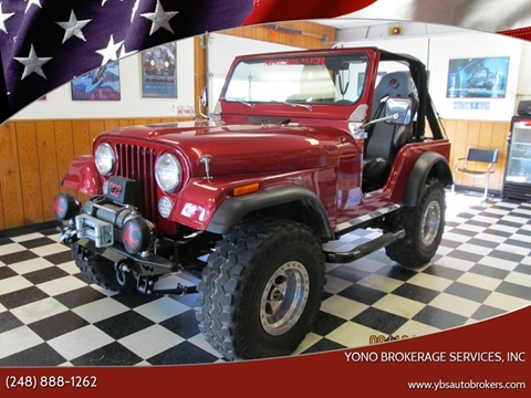 1979 Jeep CJ-5 for sale in Farmington, MI