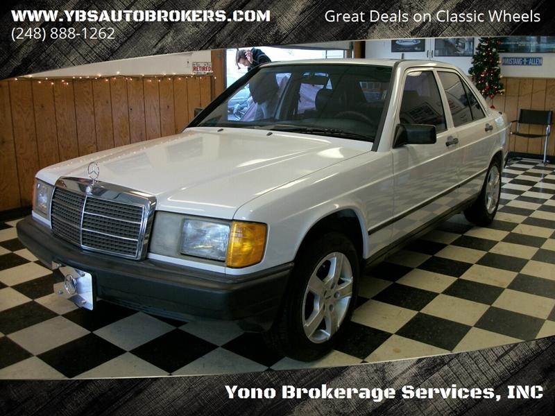 1988 Mercedes-Benz 190-Class