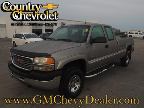 2001 GMC Sierra 2500HD for sale in Herscher, IL