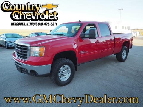 2009 GMC Sierra 2500HD for sale in Herscher, IL