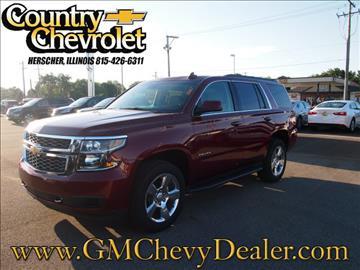 2016 Chevrolet Tahoe for sale in Herscher, IL