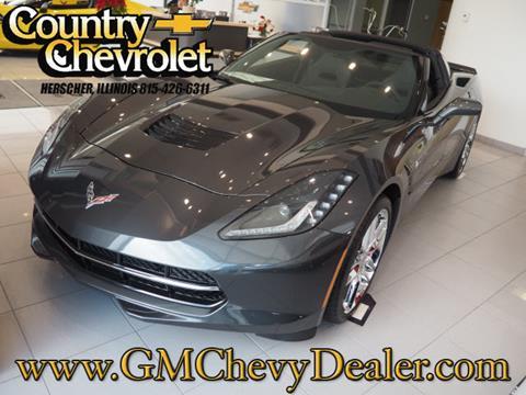 2017 Chevrolet Corvette for sale in Herscher, IL