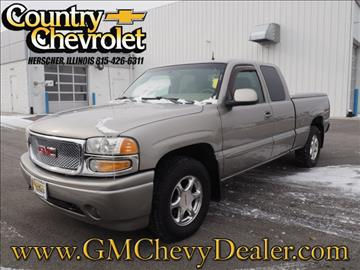 2001 GMC Sierra C3 for sale in Herscher, IL
