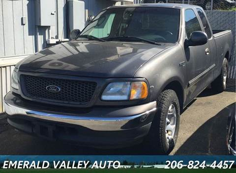 2002 Ford F-150 for sale at Emerald Valley Auto Sales in Des Moines WA