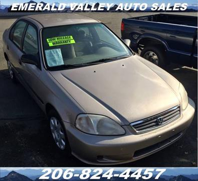 2000 Honda Civic for sale in Des Moines, WA